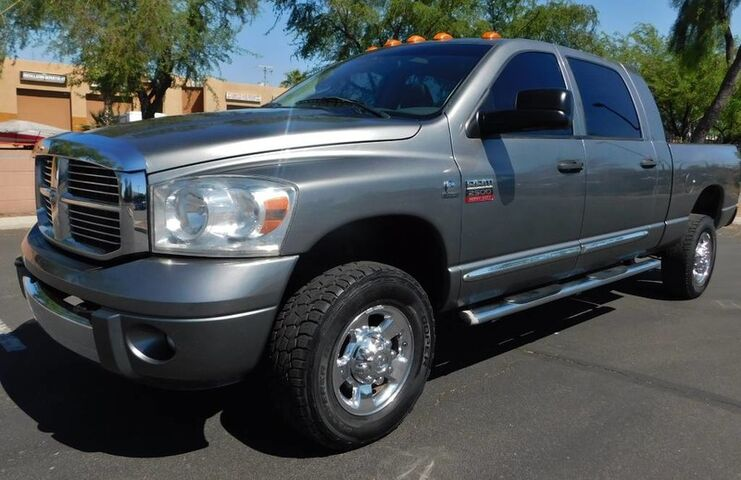 2009 Dodge RAM 2500 MEGA CAB 4WD LARAMIE LOADED CUMMINS DIESEL 6spd AUTO LEATHER MOON Phoenix AZ