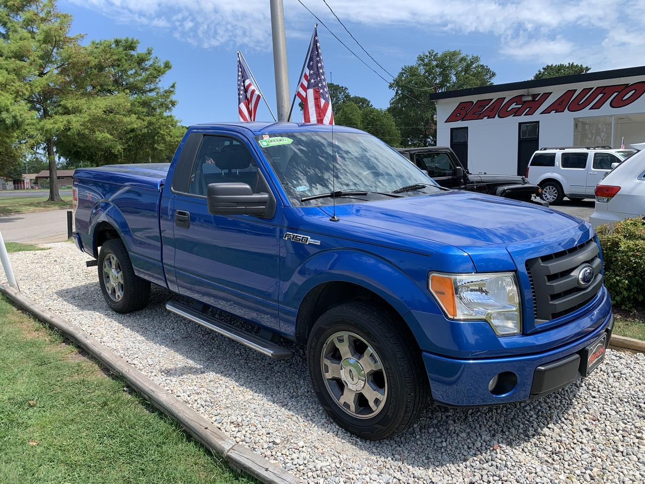 2009 FORD F-150 STX REGULAR CAB, WARRANTY, BLUETOOTH, AUX/USB PORT, SIRIUS RADIO, TOW PKG, CLEAN CARFAX! Norfolk VA