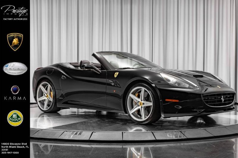 2009_Ferrari_California__ North Miami Beach FL