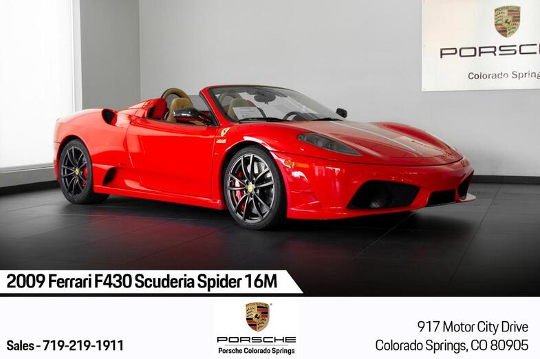 2009 Ferrari F430 Scuderia Spider 16M Colorado Springs CO