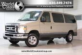 2009 Ford Econoline Wagon XLT - 7 PASSENGERS LEATHER SEATS CLEAN REAR CLIMATE SYSTEM EXTRA STORAGE