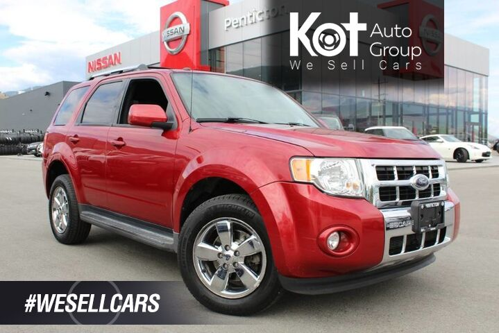 2009 Ford Escape Limited 4WD, Low Km's, No Accidents, Heated Front Seats Kelowna BC