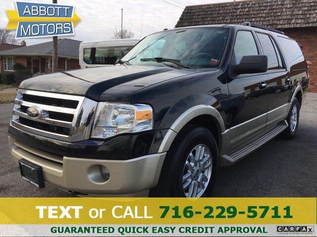 2009 Ford Expedition EL Eddie Bauer 4WD w/8-Passenger Leather Seating Buffalo NY