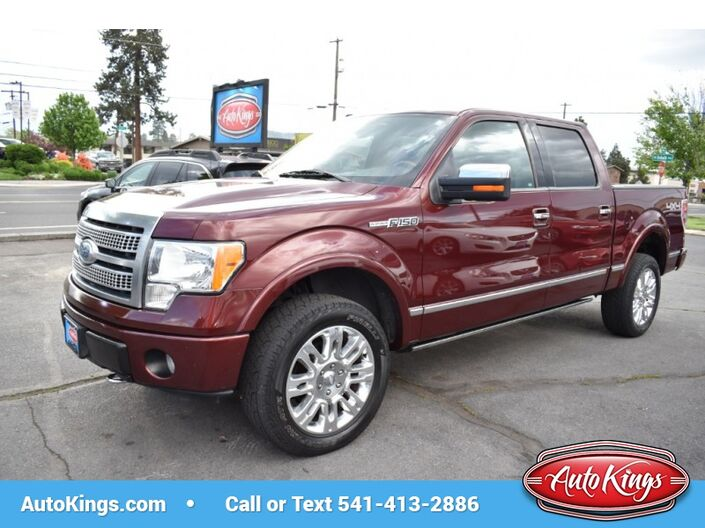 2009 Ford F-150 4WD SuperCrew 145 Platinum Bend OR