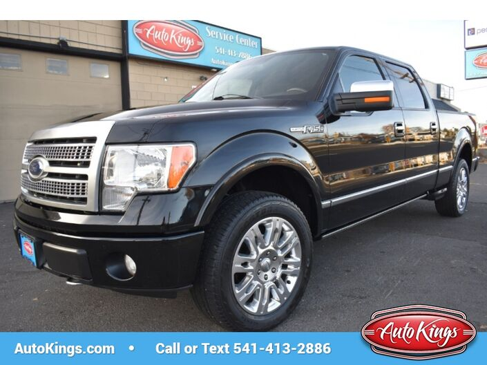 2009 Ford F-150 4WD SuperCrew 157  Platinum Bend OR