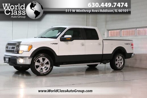 2009 Ford F-150 Lariat - BLUETOOTH AUDIO BACKUP CAMERA NAVIGATION TOW ASSIST HEATED & COOLED POWER LEATHER SEATS SUN ROOF ADJUSTABLE PEDDLES SONY AUDIO DURALINER Chicago IL