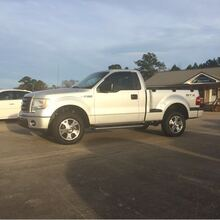 2009_Ford_F-150_STX Flareside 2WD_ Hattiesburg MS