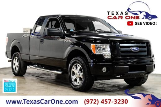 2009 Ford F-150 STX SUPERCAB 4WD AUTOMATIC RUNNING BOARDS ALLOY WHEELS TOW HITCH Carrollton TX