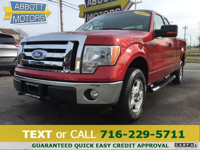 2009 Ford F-150 XLT 4WD SuperCab w/Low Miles Buffalo NY