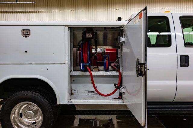 2009 Ford F-350 4x4 Super Cab XL Service Box Power Gate Red Deer AB