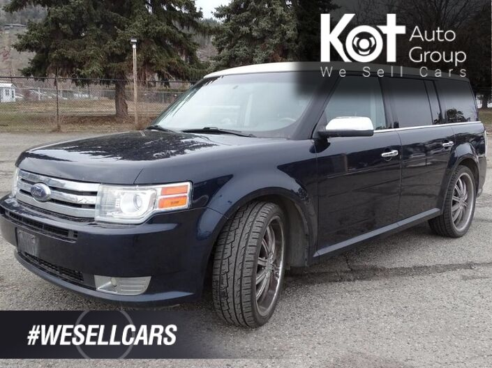 2009 Ford Flex Limited, Heated Leather Seats, Sunroof, Navigation, Back-up Camera Kelowna BC