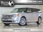 2009 Ford Flex Limited NAVI BACKUP CAMERA LEATHER SUNROOF REAR ENTERTAINMENT PKG ONE OWNER