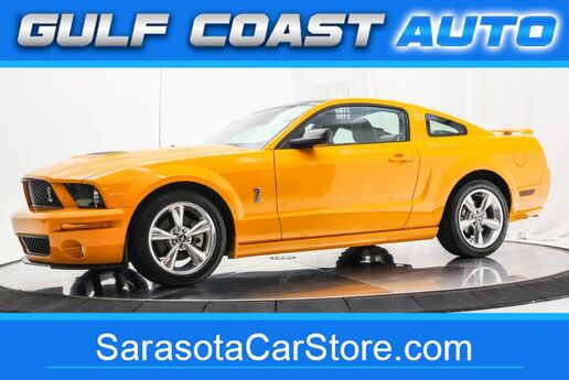 2009 Ford MUSTANG GT YELLOW !!! SUNROOF ONLY 27K MILES RARE LIKE NEW !! Sarasota FL