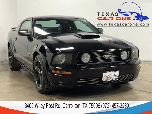 2009 Ford Mustang GT PREMIUM AUTOMATIC LEATHER HEATED SEATS SHAKER AUDIO POWER DRIVER SEAT Carrollton TX