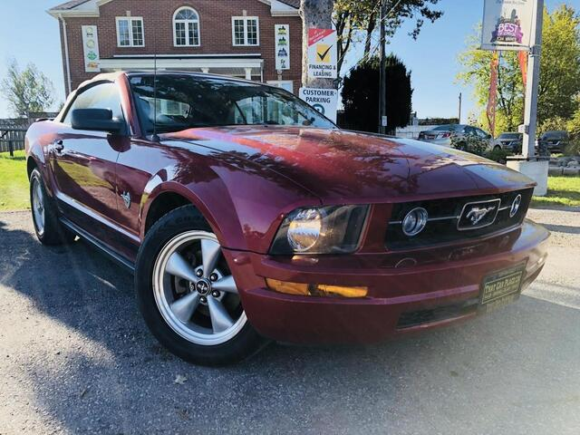 2009 Ford Mustang V6 Convertible-$66wk-PwrSts-PwrWndws-Cruise-AC London ON