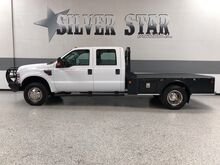 2009_Ford_Super Duty F-350 DRW_XL 4WD Powerstroke Flat Bed_ Dallas TX