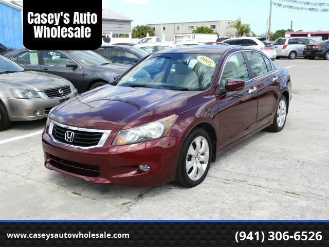 2009 Honda Accord EX-L V-6 Sedan AT wi Bradenton FL