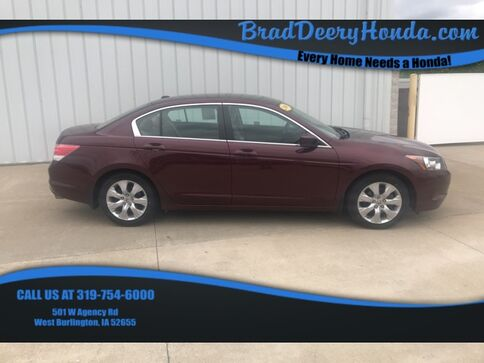 2009_Honda_Accord_EX-L_ West Burlington IA