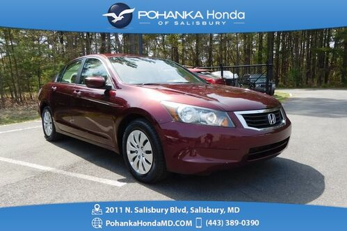 2009_Honda_Accord_LX 2.4 ** GUARANTEED FINANCING ** ONE OWNER **_ Salisbury MD