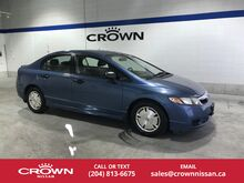 2009_Honda_Civic Sdn_4dr Auto DX-G_ Winnipeg MB