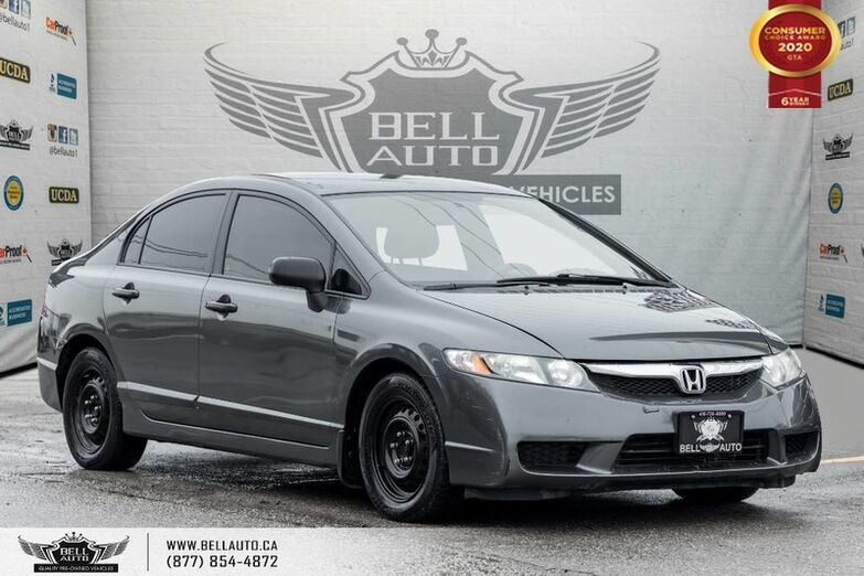 2009 Honda Civic Sdn DX, CD PLAYER, A/C, CLIMATE CONTROL, AUX INPUT Toronto ON