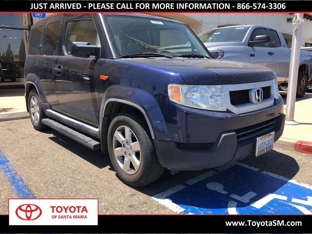 Santa Maria Honda >> Used 2009 Honda Element Ex In Santa Maria Ca