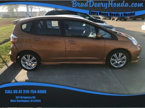 2009_Honda_Fit_Sport_ West Burlington IA