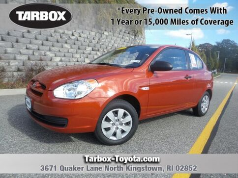 2009_Hyundai_Accent_Man GS_ North Kingstown RI
