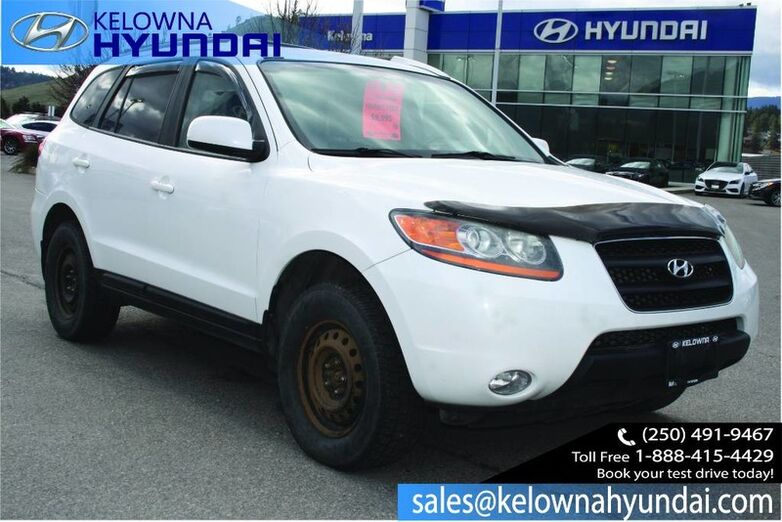 2009 Hyundai Santa Fe GLS Heated seats,Sunroof Kelowna BC