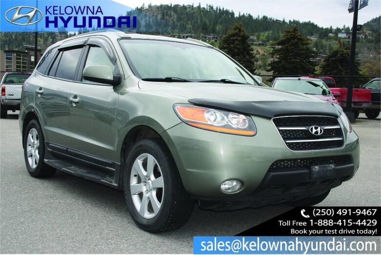 2009 Hyundai Santa Fe Limited Fully loaded Sunroof, Leather seats Kelowna BC