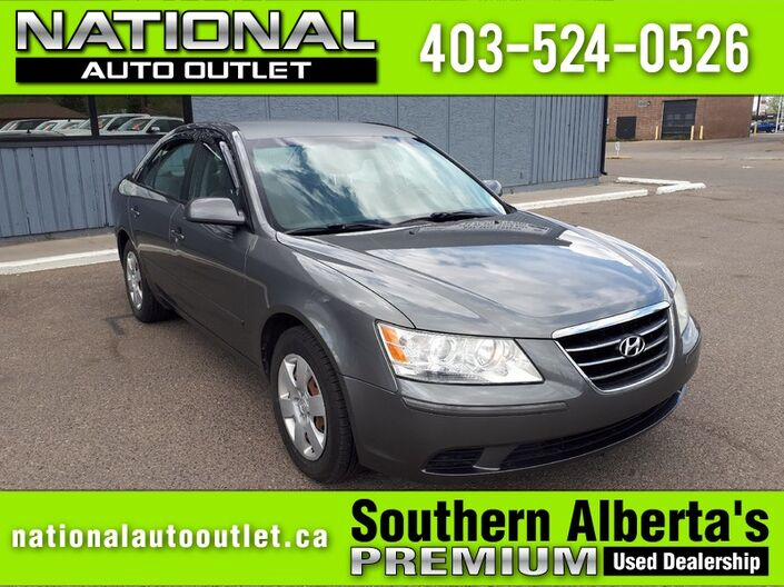 2009 Hyundai Sonata GL -HEATED CLOTH SEATS Lethbridge AB