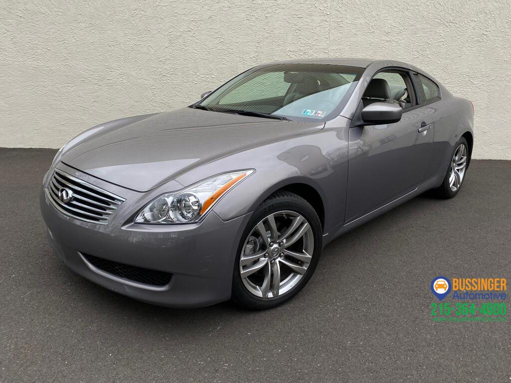 2009 Infiniti G37x Coupe - All Wheel Drive Feasterville PA