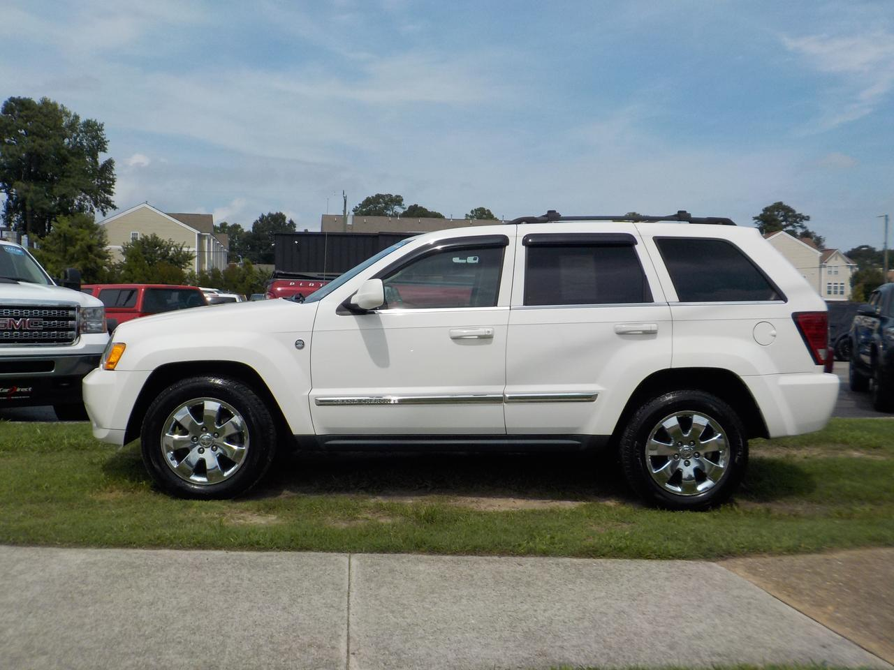 2009 JEEP GRAND CHEROKEE LIMITED, 4X4, CHROME WHEELS, NAVIGATION SYSTEM, ROOF RACKS, BOSTON SOUND SYSTEM! Virginia Beach VA