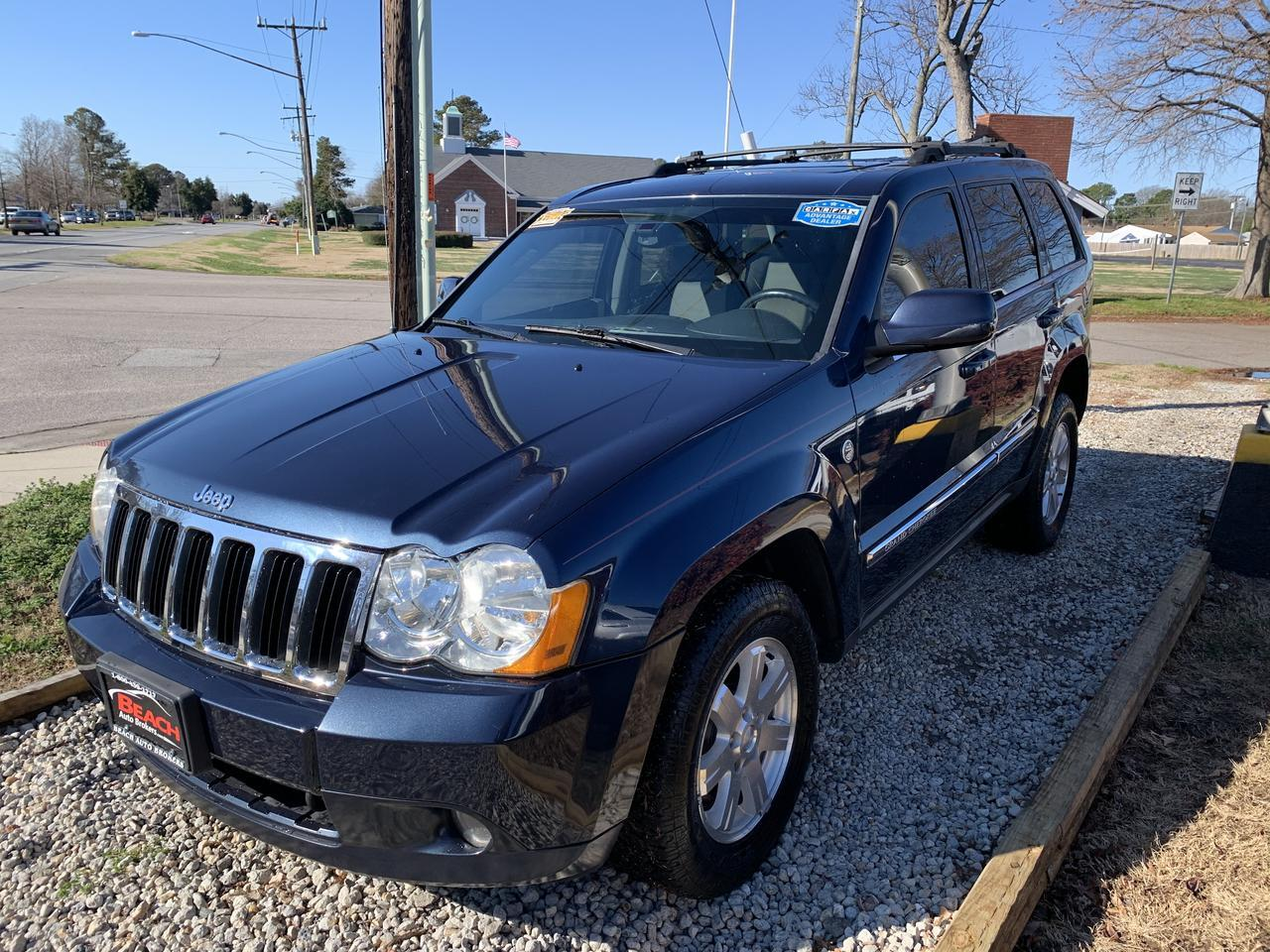 2009 JEEP GRAND CHEROKEE LIMITED 4X4, WARRANTY, LEATHER, SUNROOF, BOSTON SOUND SYSTEM, NAV, HEATED SEATS! Norfolk VA