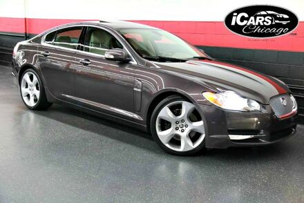 2009_Jaguar_XF_Supercharged 4dr sedan_ Chicago IL