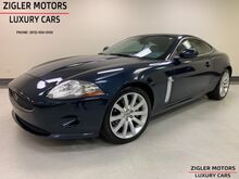 2009_Jaguar_XK Series_Coupe low miles Clean Carfax Navigation 19 Inch Wheels Garage kept_ Addison TX
