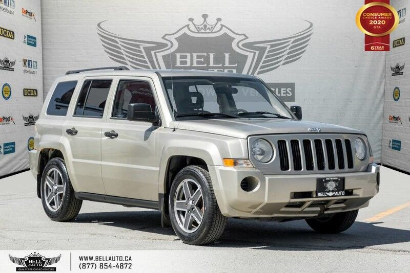 2009 Jeep Patriot North, NO ACCIDENT, AWD, HEATED SEATS, PWR MIRRORS, A/C