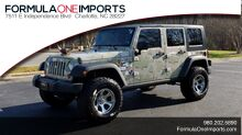 2009_Jeep_WRANGLER UNLIMITED 4X4 / FREEDOM TOP / CUSTOM_RUBICON_ Charlotte NC