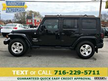 2009_Jeep_Wrangler 4Dr Unlimited_Sahara 4WD Hardtop w/Low Miles_ Buffalo NY