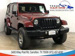 2009_Jeep_Wrangler_UNLIMITED SAHARA 4WD SOFT TOP CONVERTIBLE CRUISE CONTROL ALLOY W_ Carrollton TX