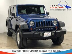 2009_Jeep_Wrangler_UNLIMITED X 4WD AUTOMATIC HARD TOP CONVERTIBLE CRUISE CONTROL AL_ Carrollton TX