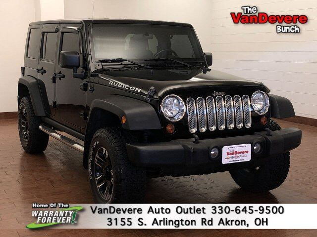 2009 Jeep Wrangler Unlimited Rubicon Akron OH