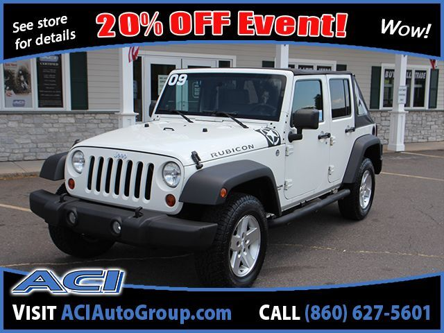 2009 Jeep Wrangler Unlimited Rubicon East Windsor CT