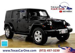2009_Jeep_Wrangler Unlimited_Sahara_ Carrollton TX
