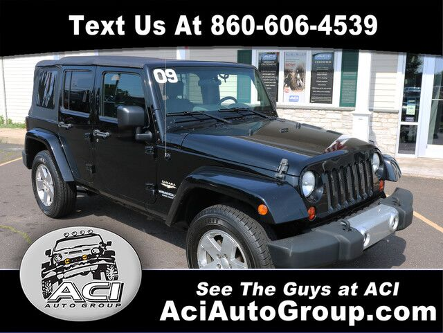 2009 Jeep Wrangler Unlimited Sahara East Windsor CT