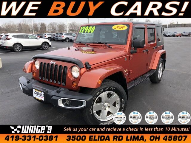2009 Jeep Wrangler Unlimited Sahara Lima OH