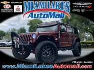 2009 Jeep Wrangler Unlimited Sahara Miami Lakes FL
