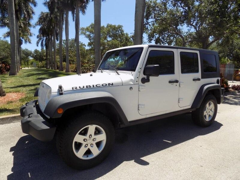 2009 Jeep Wrangler Unlimited Unlimited Rubicon Hollywood FL