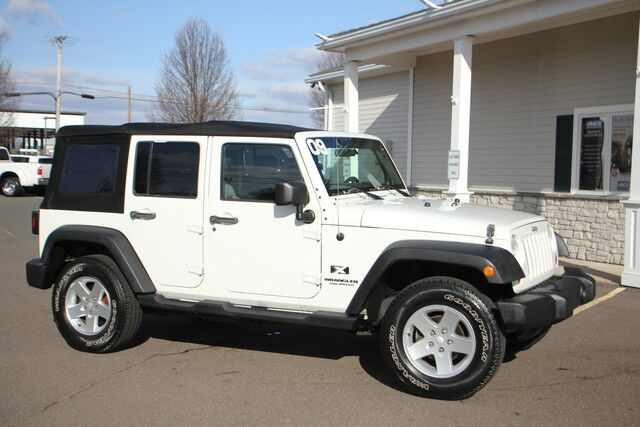 2009 Jeep Wrangler Unlimited X East Windsor CT