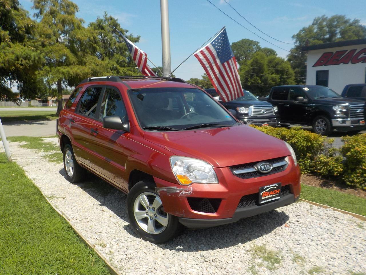 2009 KIA SPORTAGE LX, WHOLESALE TO THE PUBLIC, KEYLESS ENTRY, SAT RADIO, GET IT BEFORE IT GOES TO AUCTION!